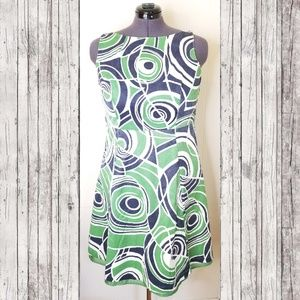 Merona Retro Swirl A-line Dress